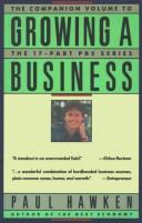 Cover of: Growing a business by Paul Hawken