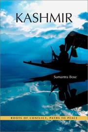 Cover of: Kashmir by Sumantra Bose