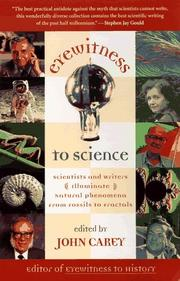 Cover of: Eyewitness to Science | John Carey