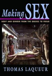 Cover of: Making Sex by Thomas Laqueur