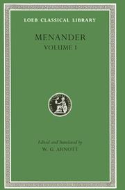 Cover of: Menander, Volume 1 | Menander of Athens.