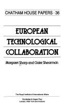 Cover of: European technological collaboration | Sharp, Margaret