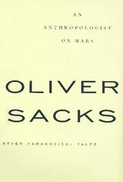 Cover of: An anthropologist on Mars by Oliver W. Sacks