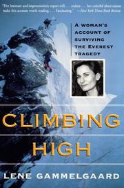 Cover of: Climbing High | Lene Gammelgaard