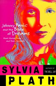 Cover of: Johnny Panic and the Bible of Dreams | Sylvia Plath