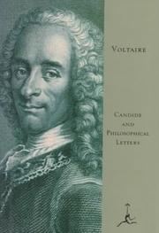 Cover of: Candide by Voltaire