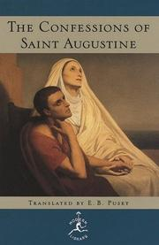 Cover of: The Confessions of Saint Augustine | Augustine of Hippo