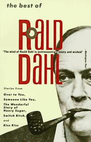 Cover of: The Best of Roald Dahl | Roald Dahl