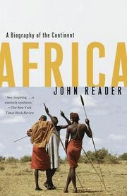 Cover of: Africa | John Reader