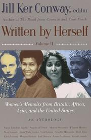 Cover of: Written by Herself: Volume 2 | Jill Ker Conway