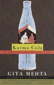Cover of: Karma cola by Gita Mehta