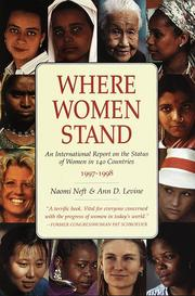 Cover of: Where women stand | Naomi Neft