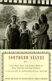 Cover of: Southern Selves | James Watkins