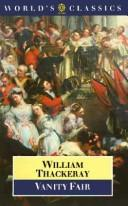 Cover of: Vanity fair by William Makepeace Thackeray