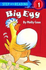 Cover of: Big egg | Molly Coxe