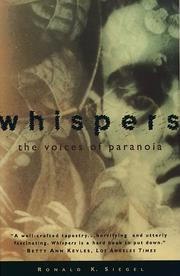 Cover of: Whispers | Ronald K. Siegel