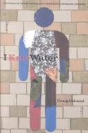 Cover of: I knit water | Craig Bolland