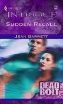 Cover of: Sudden recall by Jean Barrett