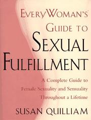 Cover of: Everywoman's guide to sexual fulfillment by Susan Quilliam