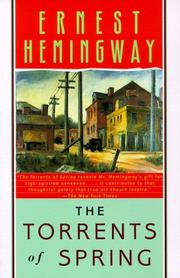 Cover of: The torrents of spring by Ernest Hemingway