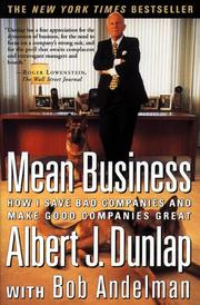 Cover of: Mean Business | Bob Andelman