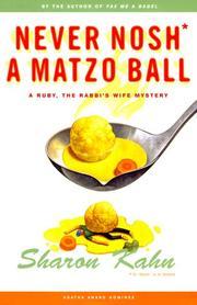 Never nosh a matzo ball