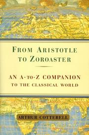 Cover of: From Aristotle to Zoroaster | Cotterell, Arthur.