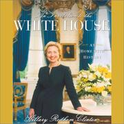 Cover of: An invitation to the White House | Hillary Rodham Clinton