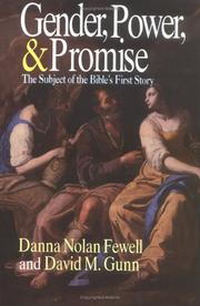 Cover of: Gender, power, and promise | Danna Nolan Fewell