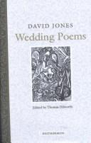 Cover of: Wedding poems | Jones, David