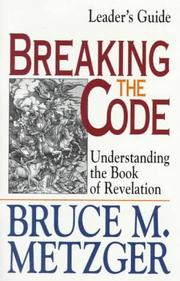 Cover of: Breaking the code by Donn Downall