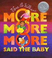 "Cover of: ""More more more"" said the baby 