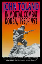 Cover of: In Mortal Combat by John Willard Toland