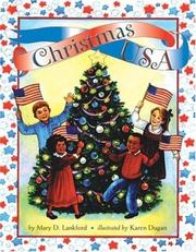 Cover of: Christmas USA | Mary D. Lankford