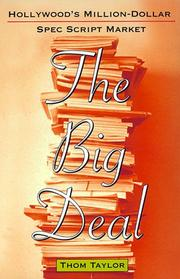 Cover of: The Big Deal by Thom Taylor