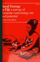 Cover of: Rural energy in Fiji | Suliana Siwatibau