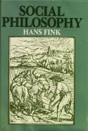 Cover of: Social philosophy | Hans Fink