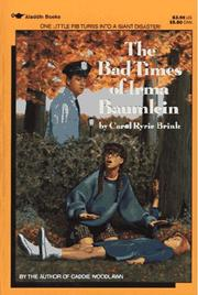 Cover of: The bad times of Irma Baumlein by Carol Ryrie Brink