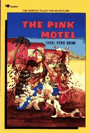 Cover of: The pink motel by Carol Ryrie Brink