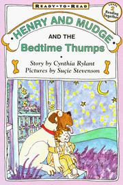 Cover of: Henry and Mudge and the bedtime thumps | Cynthia Rylant