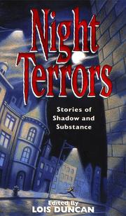 Cover of: Night Terrors: Stories Of Shadow And Substance | Lois Duncan