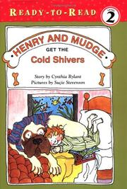 Cover of: Henry and Mudge Get the Cold Shivers (Ready-to-Read. Level 2, Reading Together) | Cynthia Rylant