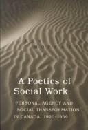 Cover of: A poetics of social work | Kenneth James Moffatt