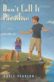 Cover of: Don't call it paradise by Gayle Pearson