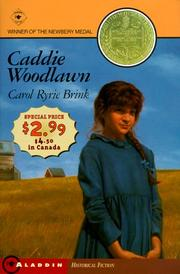 Cover of: Caddie Woodlawn - Newbery Promo '99 | Carol Ryrie Brink