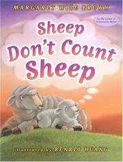 Cover of: Sheep don't count sheep | Margaret Wise Brown