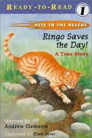 Cover of: Ringo Saves The Day! | Andrew Clements