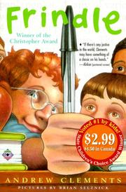 Cover of: Frindle - 2000 Kids' Picks | Andrew Clements