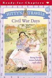 Cover of: Hitty's Travels #1 | Ellen Weiss
