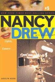 Cover of: Lights, camera-- by Carolyn Keene